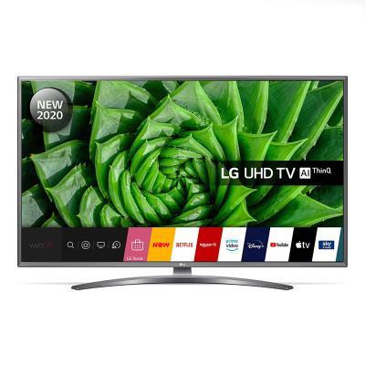 """TV LG 43"""" 4K UHD SmartTV Preta (43UN81006LB)"""
