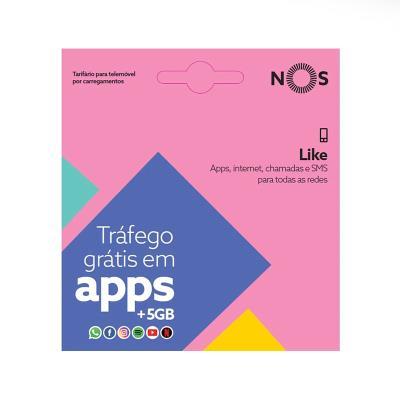 Cartão SIM NOS Like 4G