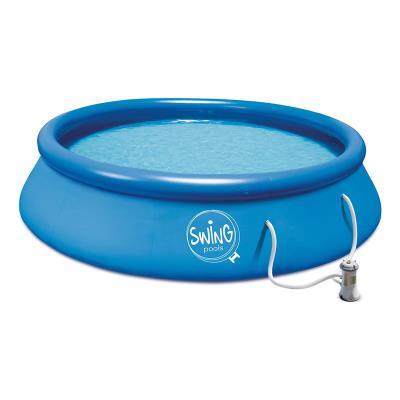 Inflatable Pool Marín Blue Blue 300 x 76 cm