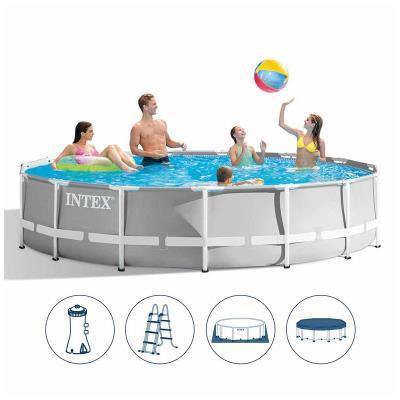 Pool Intex Prism Frame 457x107 cm w/Cartridge Pump (26724NP)