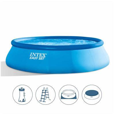 Inflatable pool Intex 457x107 cm w/Cartridge Pump (26166NP)