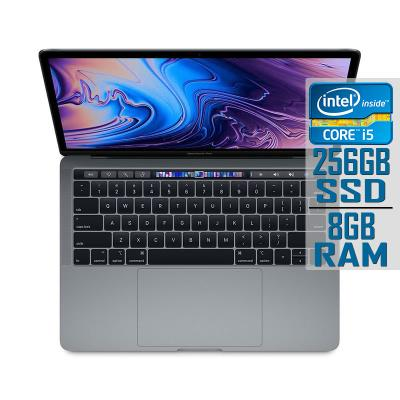 MacBook Pro 13.3'' Touch Bar Core i5 2.4GHz SSD 256GB/8GB Cinzento Sideral (MV962PO/A)