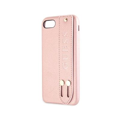 Protective Saffiano Strap Cover Guess Apple iPhone 7/8/SE 2020 Pink