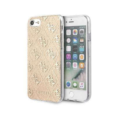 Silicone Cover Guess Apple iPhone 7/8/SE 2020 Gold
