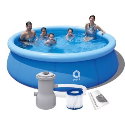 Pool Avenli 360x76 cm w/Electric Filter