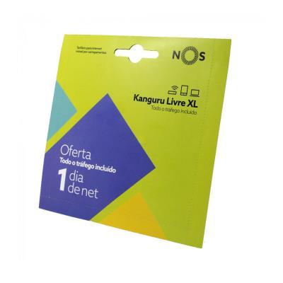 Cartão Banda Larga NOS Kanguru Livre XL