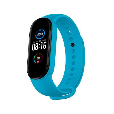 Silicone Bracelet Xiaomi Mi Band 5 Sky Blue