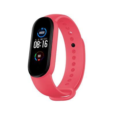 Silicone Bracelet Xiaomi Mi Band 5 Pink