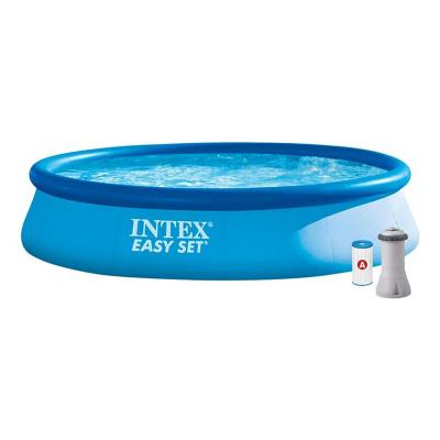 Inflatable pool Intex 28142GN 396X84 cm w/Electric Filter