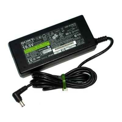 Compatible Charger Sony 6.0X4.4MM 19.5V 4.74A 90W Black