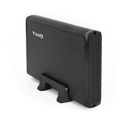 "Caixa Externa TooQ TQE-3509B 3.5"" SATA HDD Preta"