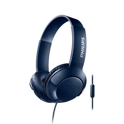 Headphones Philips Bass+ Blue (SHL3075BL/00)