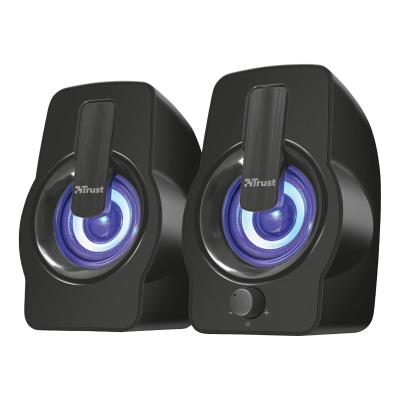 Speakers Trust Gemi RGB 2.0 Speaker 12W USB Black
