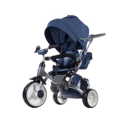 Tricycle Little Tiger 4 in 1 Dark blue