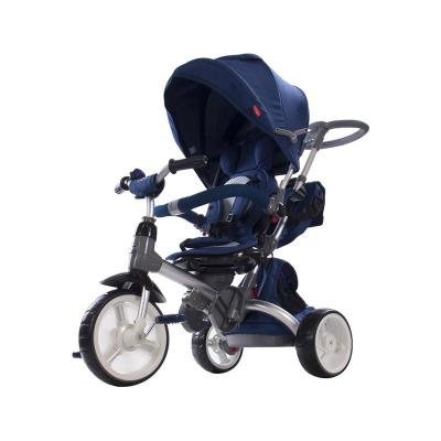 Tricycle Little Tiger 4 in 1 Blue
