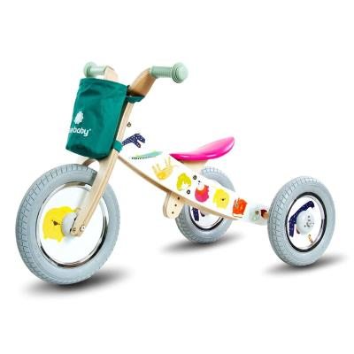 Balance Bike Safari 2 in 1 White