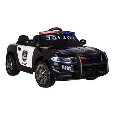 Electric car Police 12V Black
