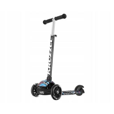 Scooter Kruzzel 3 Wheels Black Refurbished