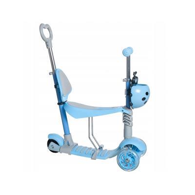 Scooter Kruzzel 3 Wheels LED 5 in 1 Blue