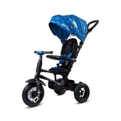Folding Tricycle Qplay Rito Air Wheels Blue