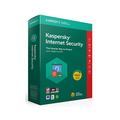 Software Kaspersky Internet Security 2020 3 Dispositivos 1 Ano DVD OEM-EXC