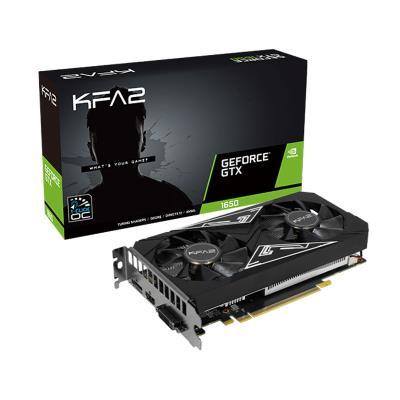Graphics Card KFA2 GeForce® GTX 1650 EX Plus 4GB GDDR6