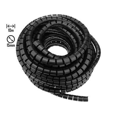 Cable Organizer Espiral 10m 15mm Black