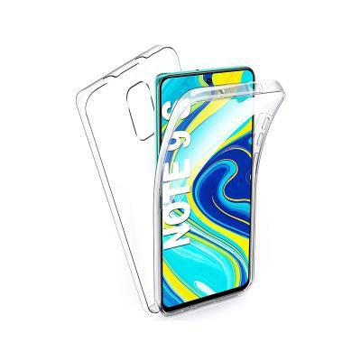 Funda Silicone 306º Xiaomi Redmi Note 9s/Note 9 Pro Transparente