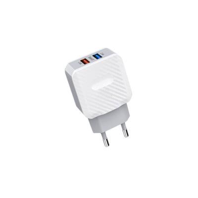 Adapter Woox WA3123 2 USB outputs 2.4A White