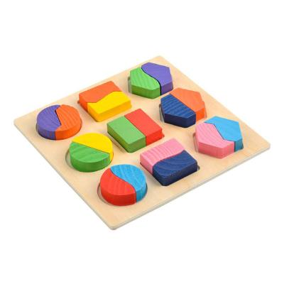 Puzzle Wood Geometric Figures
