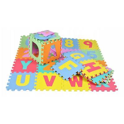Tapete Puzzle Alfanumérico 36 Peças