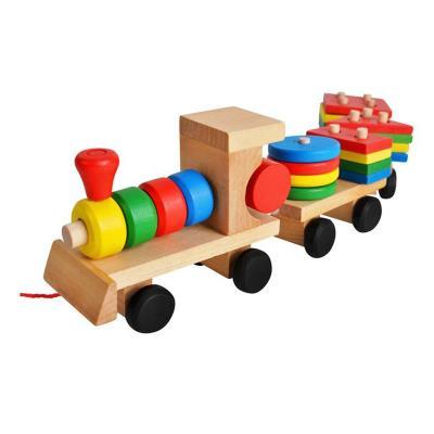 Train Madeira XL Educativo
