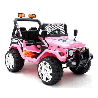 Electric car Jeep Raptor 12V Pink