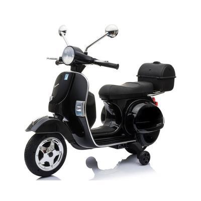 Electric Motorcycle Vespa Clássica Piaggio 12V Black