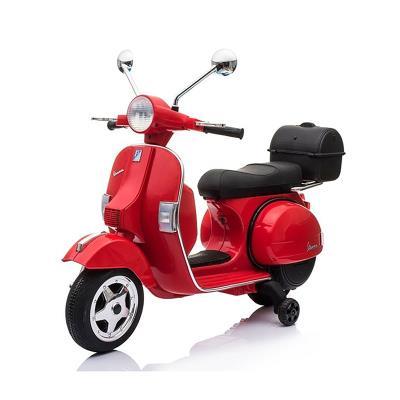 Electric Motorcycle Vespa Clássica Piaggio 12V Red