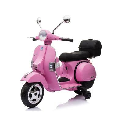 Electric Motorcycle Vespa Clássica Piaggio 12V Pink