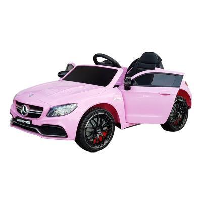 Electric Car Mercedes C63 12V Pink