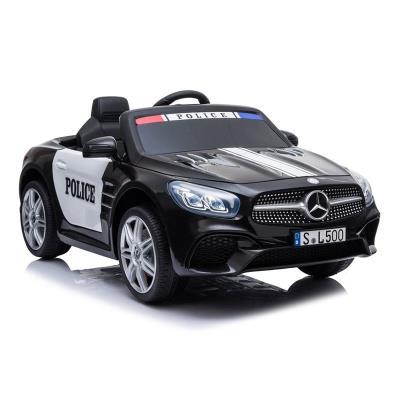 Carro Elétrico Mercedes Polícia SL500 12V Preto