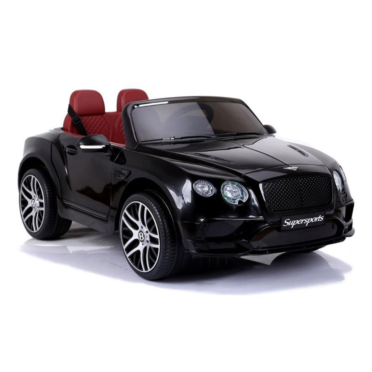 Compre Online Coche Electrico Bentley Supersports 12v Negro
