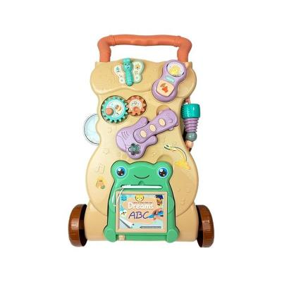 Andador YouGet Primeiros Passos Multi-Brinquedos Bege