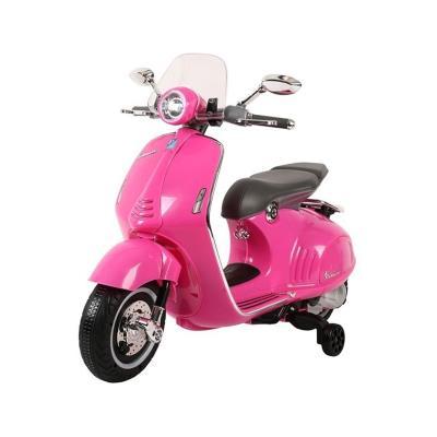 Electric Motorcycle Vespa GTS300 12V Pink