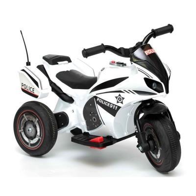 Electric Motorcycle Polícia YSA-021A 6V White