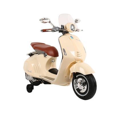 Electric Motorcycle Vespa GTS300 12V Beige