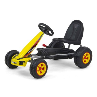 Car Pedals Milly Mally GoKart Viper Yellow