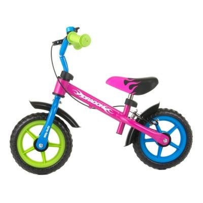 Bicicleta Equilíbrio Milly Mally Dragão Multicor