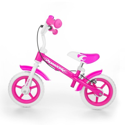 Balance Bike Milly Mally Dragon Rosa
