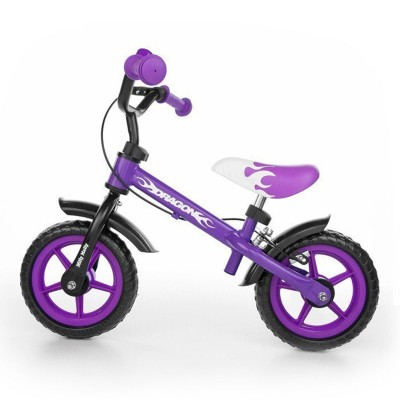 Balance Bike Milly Mally Dragon Purple