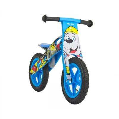 Balance Bike Milly Mally King Bob Wood Blue