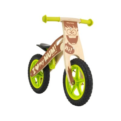 Balance Bike Milly Mally King Bob Wood Green