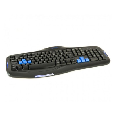 Gaming Keyboard Z8tech Iron Plate Black/Blue (KB-1851)